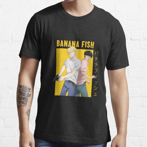 Pez banana - Ash y Okumura Camiseta esencial