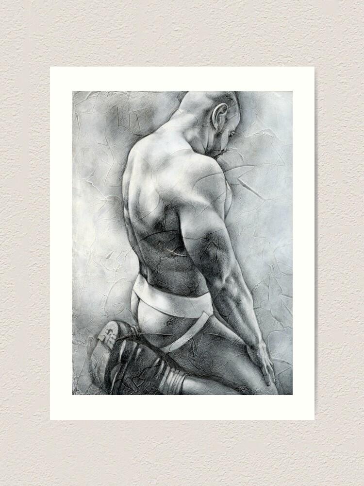 """Alternate view of """"Penumbra"""" Art Print"""