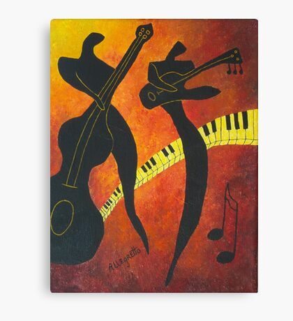 New Orleans Jazz Canvas Print