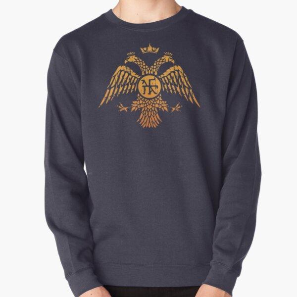 Byzantine Eagle Symbol Flag Pullover Sweatshirt