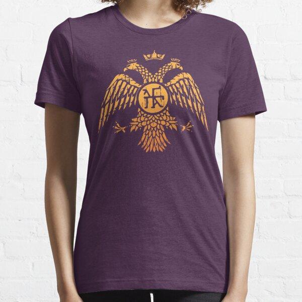 Byzantine Eagle Symbol Flag Essential T-Shirt
