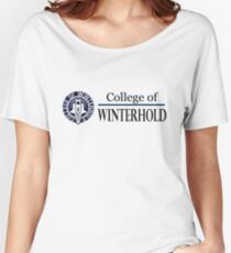 College of Winterhold Women's Relaxed Fit T-Shirt