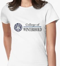 College of Winterhold Women's Fitted T-Shirt
