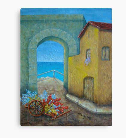 Pietrasanta In Tuscany Canvas Print