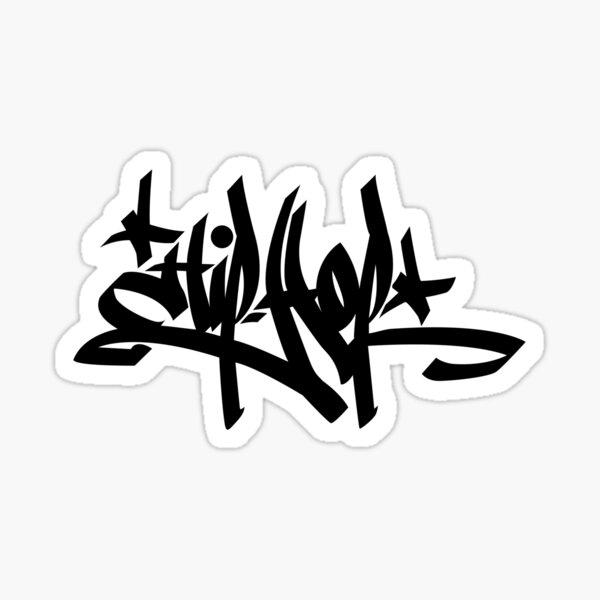 Hip-Hop (Graffiti) Sticker