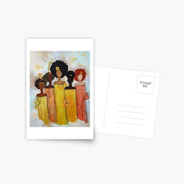 Sistahs Stand Golden Postcard