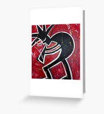 Blood, Sweat & Jazz Greeting Card