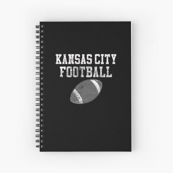 Vintage Kansas City Football Spiral Notebook