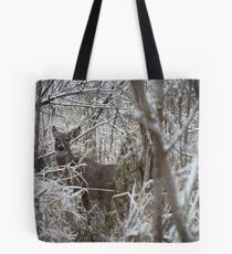 First Snow Doe Tote Bag
