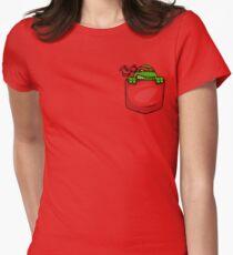 Pocket Ninja Womens Fitted T-Shirt
