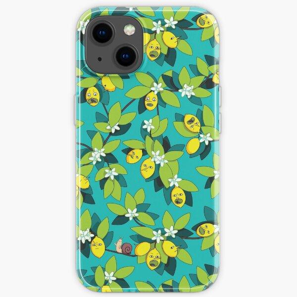 Lemongrab Tree Pattern iPhone Soft Case