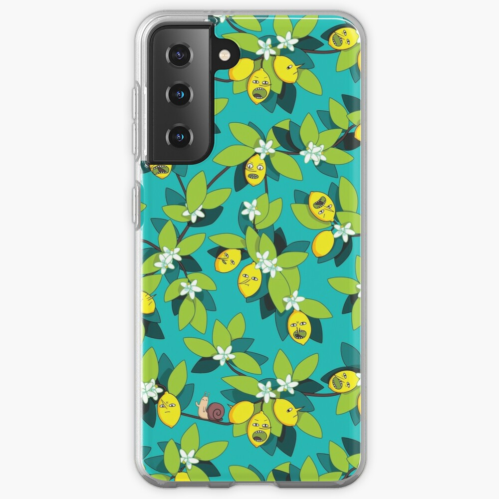 Lemongrab Tree Pattern Case & Skin for Samsung Galaxy