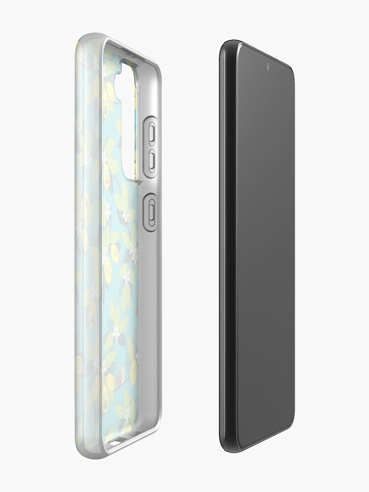 Alternate view of Lemongrab Tree Pattern Case & Skin for Samsung Galaxy