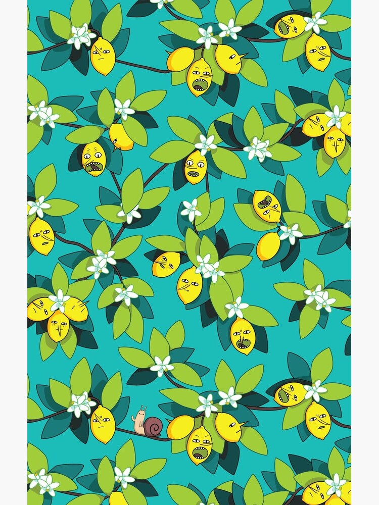 Lemongrab Tree Pattern by AngieHursh