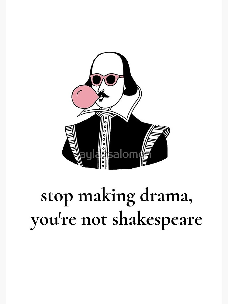 Dramatic Shakespeare by aylaasalomon