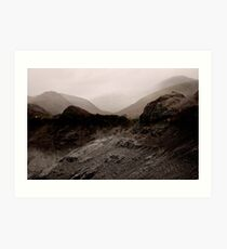 Lake District Variations .. 7 Art Print