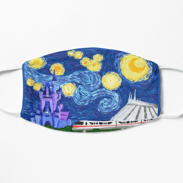 Starry Kingdom Flat Mask