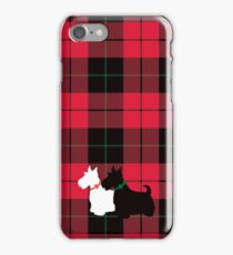 Scottie Tartan iPhone Case/Skin