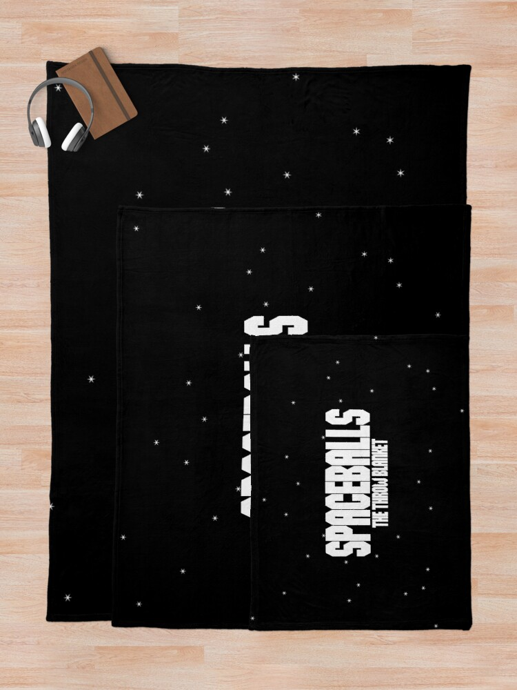 Alternate view of SPACEBALLS Throw Blanket