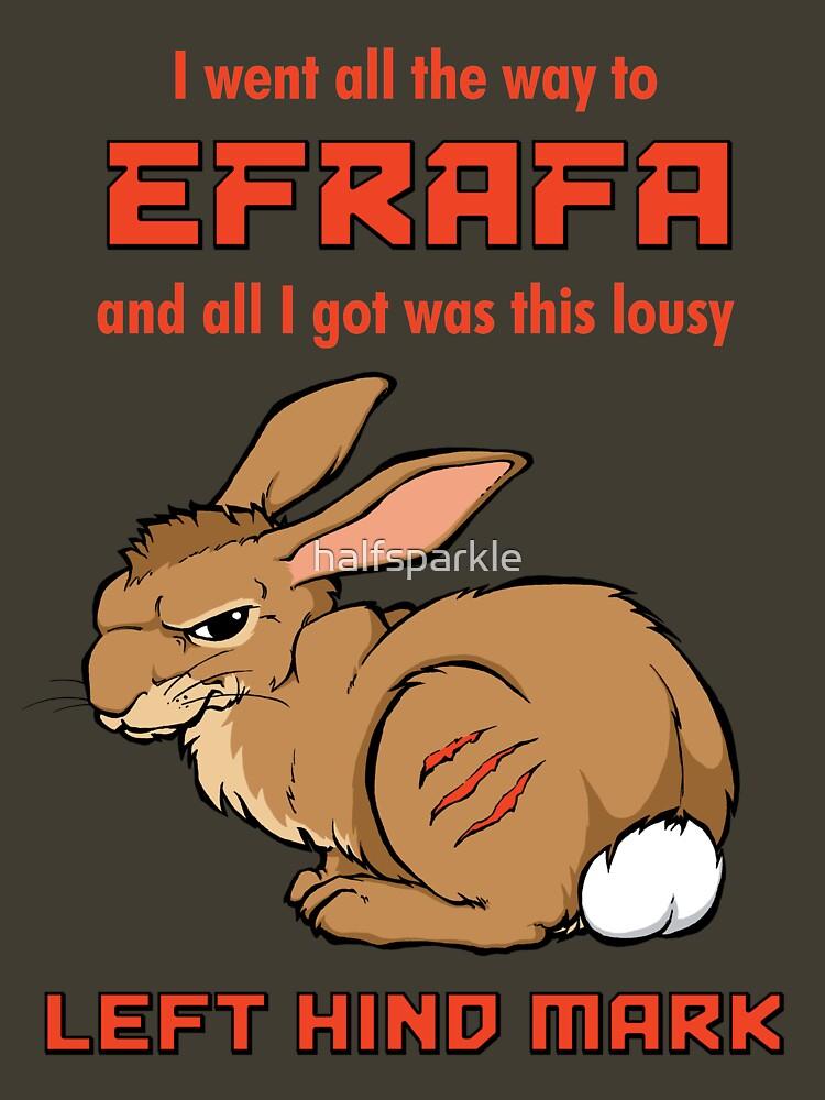 I Went All the Way to Efrafa by halfsparkle