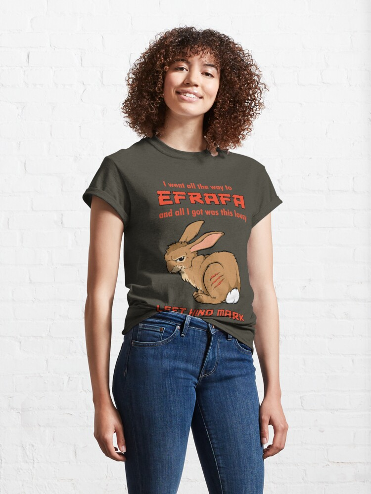 Alternate view of I Went All the Way to Efrafa Classic T-Shirt