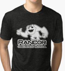Rancor Obedience School Tri-blend T-Shirt