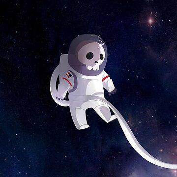 Cute Dead Astronaut by Cookiecutter60