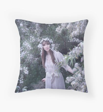 All Of Winter In A Day Throw Pillow