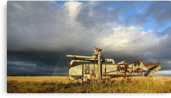 Prairie Past by Greg Belfrage