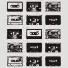 Audio Cassette Tapes (Black) by raneman