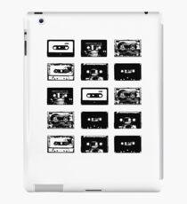 Vinilo o funda para iPad Audio Cassette Tapes (Black)