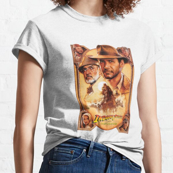 Indiana Jones and The Last Crusade Movie Poster Classic T-Shirt
