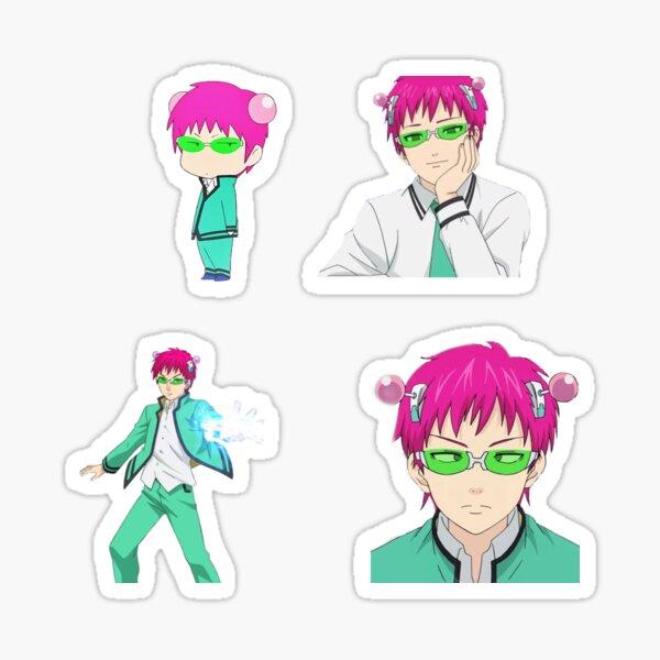 Saiki K Sticker Pack Sticker