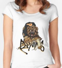 Boston Bruins  Women's Fitted Scoop T-Shirt