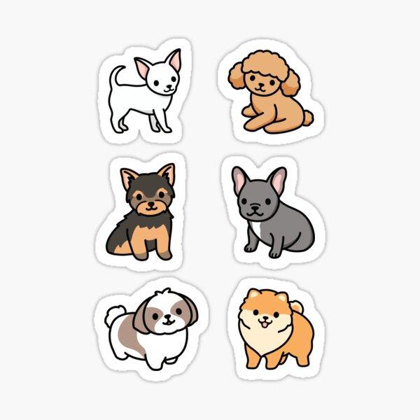 Small Dog Sticker Pack Sticker