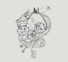 Miyazaki mash up | Unisex T-Shirt