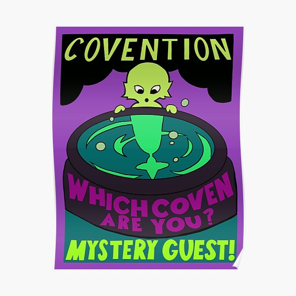 Covention - The Owl House  Poster