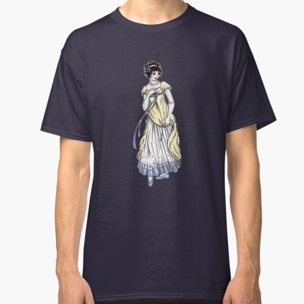 Lady Cecilia Fifield - Regency Fashion Illustration Classic T-Shirt