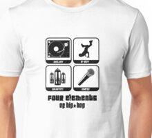 Four Elements of Hip-Hop Unisex T-Shirt