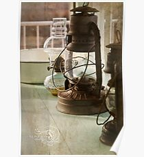 Pinnacle Knob Fire Tower~ the lamps Poster