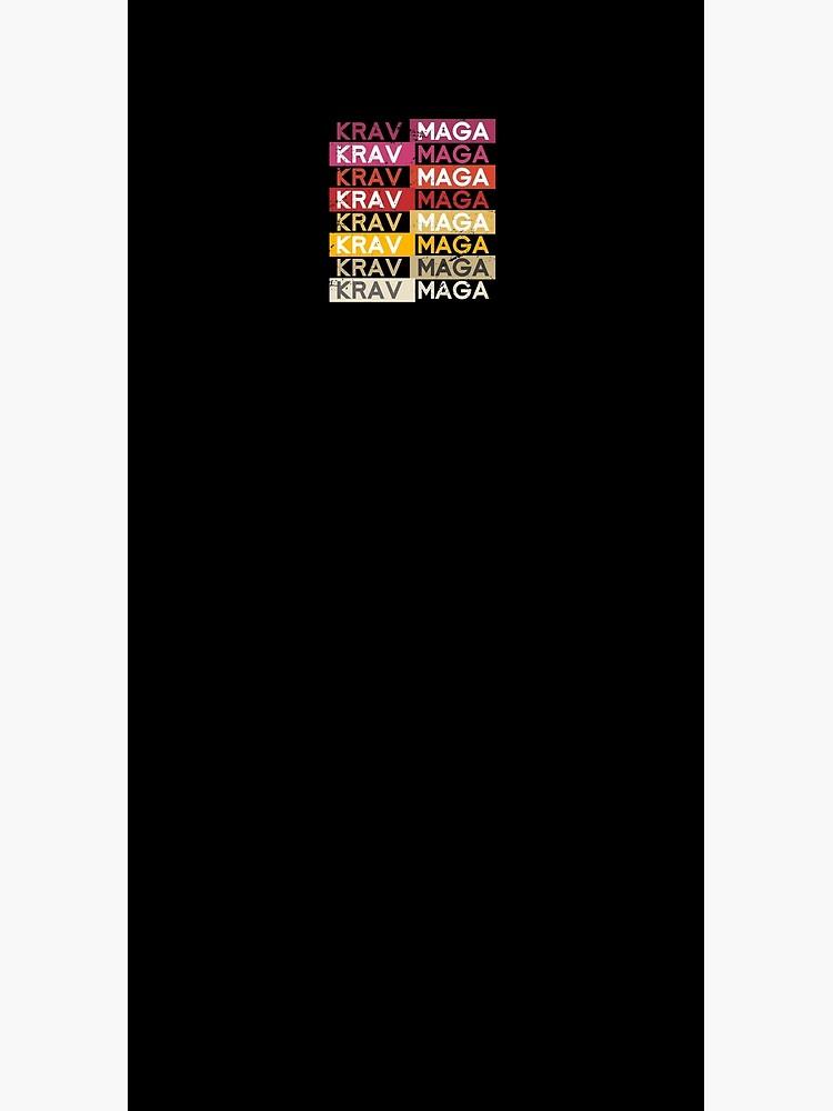 Retro Krav Maga by bestshirtdesign