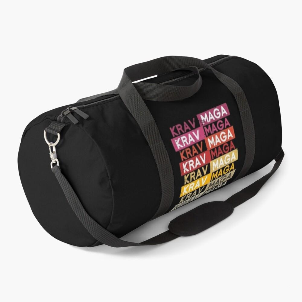 Retro Krav Maga Duffle Bag