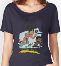 Troy + Abed Women's Relaxed Fit T-Shirt