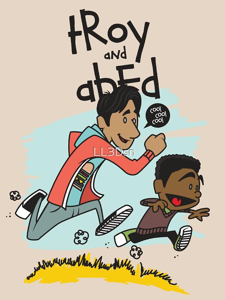 Troy + Abed | Unisex T-Shirt