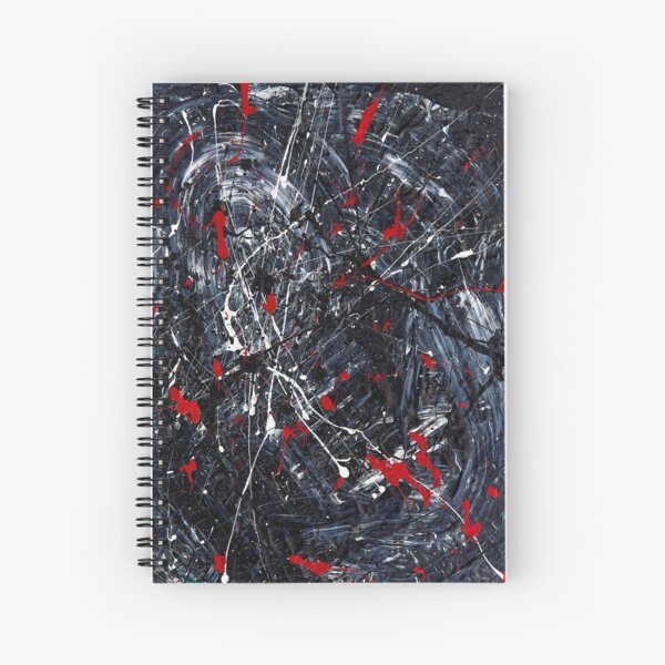 END OF THIS - art that no longer exists in the world Spiral Notebook