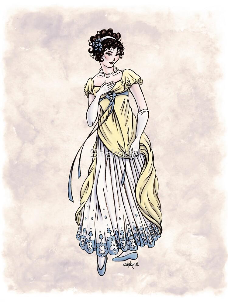 Lady Cecilia Fifield - Regency Fashion Illustration by Shakoriel