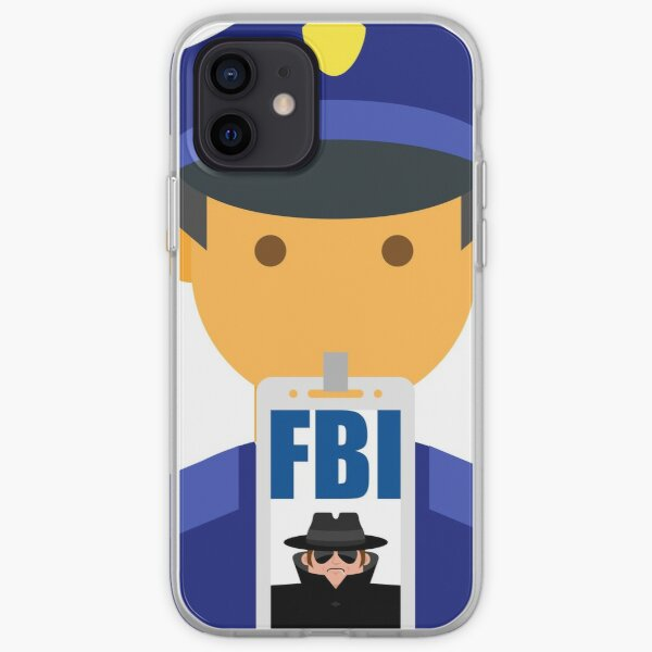 FBI iPhone Soft Case