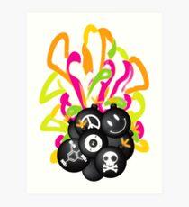 Tic_Tac_Bomb Art Print