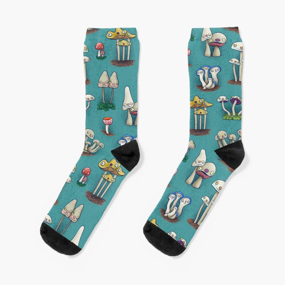 Mushies in Mushville Socks
