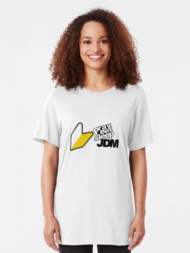 Alternate view of JDM Pope Slim Fit T-Shirt